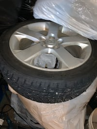 BRAND NEW SNOW TIRES AND MAZDA RIMS Surrey, V3W 1Y2