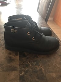 Lacoste leather booties size 1  Brampton, L6R