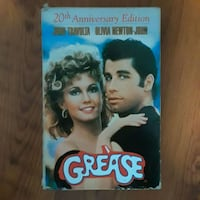 Grease 20th anniversary with script vhs
