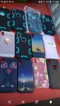 12 new iPhone x cases lot 20 for all 411 mi