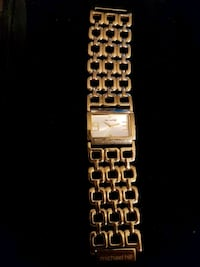 Michael Hill Gold Plated watch 479 km