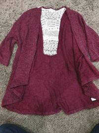 Brand new Umgee cardigan with back detail Surrey