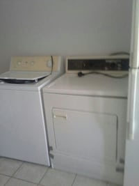 white top-load washer and dryer set Brossard, J4W