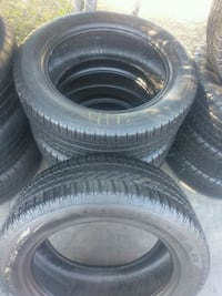 Semi new set of 4 tires 255/55/R20 BRAND GOODYEAR  Bell Gardens, 90202