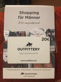 20 Euro Outfittery Karte Berlin, 13057