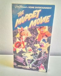 The Muppet Movie VHS kaset