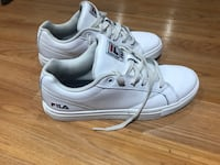Filas all white memory foam woman's size 8