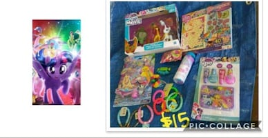 New my little pony toy bundle