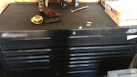 black and gray Snap-on metal tool cabinet Harmans, 21077