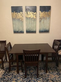 Dining Set- Table and Six Chairs