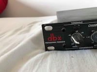 Music equipment: This is a dbx two channel compressor for voice and instrument compression Mississauga, L4W 2X2
