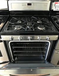 Maytag stainless steel gas stove 90 days warranty