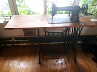 Singer Industrial Sewing Machine Circa 1880's Toronto, M8V 4E4