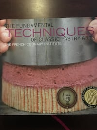 French Culinary Institute (pastry) textbook Newark, 07105