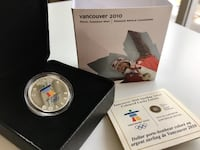 2010 Canada Mint Vancouver Olympics Lucky Loon Sterling Silver Calgary, T2R 1K5