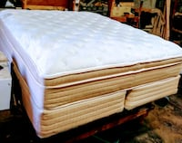 Cal king pillow top mattress and foundation Bakersfield, 93312