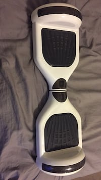 White Hover board with Bluetooth speaker 550 km