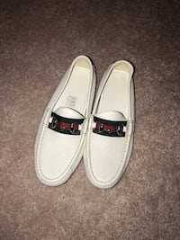 white Gucci leather loafers Toronto, M3K