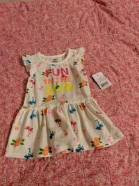 Girl 6-12m shirt (long style) - brand new  Surrey, V3W 5S2