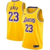 Mens Lakers Jersey * James* Norman