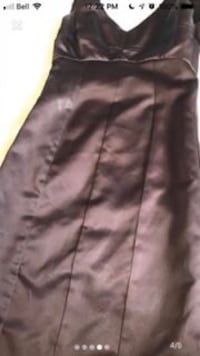 Custom Made Chocolate Brown Backless Style Dress Size 2 Toronto, M4P 1E4