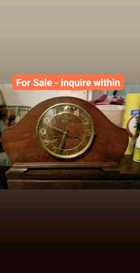 Bartmar Antique Mantle Clock Surrey, V4N 3Y2