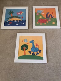 3 Colorful Pictures for Children's Room Vienna, 22180