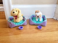 American Girl Dogs: Honey & Bennett+beds Toronto, M6G 1P3