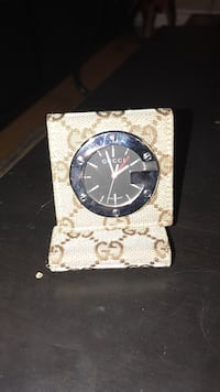 Real!!! Gucci time piece bought $450 really nice timepiece