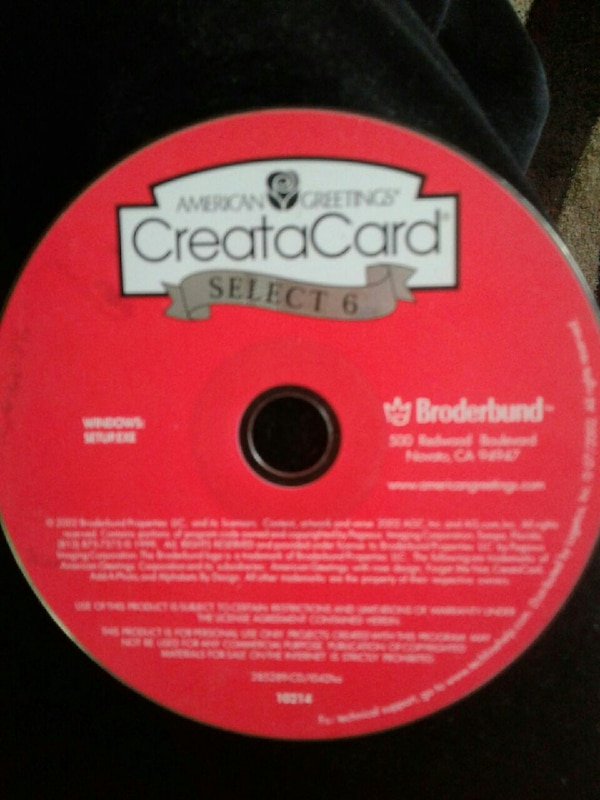 Used american greetings creatacard select 6 dvd for sale in anderson american greetings creatacard select 6 dvd m4hsunfo
