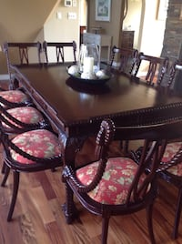 brown wooden dining table set null, T7Z 2T2