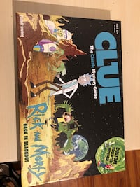 Rick and Morty - clue