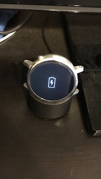 Motorola Moto 360 46mm smart watch - with charger and black strap Las Vegas, 89117