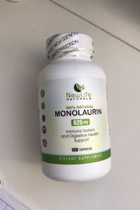 Monolaurin sealed exp 07/2021
