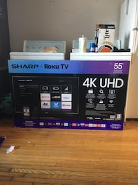 55 inch Sharp 4K Ultra HD smart tv 547 km