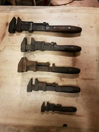 Antique pipe wrenches Little Britain, K0M 2C0