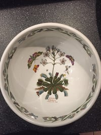 white and red floral ceramic bowl Ancaster, L9G 1Z4