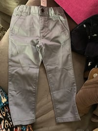 Size 3t Grey Khakis. New with tag. Waldorf