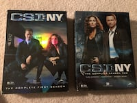 CSI NY DVD Seasons 1&2