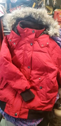 New womans L down filled winter jacket