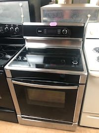 Stainless Steel Bosch Glass Top Stove  Woodbridge, 22191