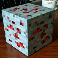 Minecraft light-up Redstone Ore statue  Rockville, 20850