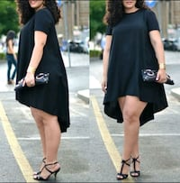 New slightly sheer shirt sleeve blouse dress Montreal, H8T