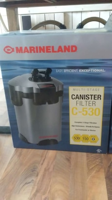 silver Marineland canister filter c-530 box in Crown Point ...