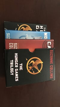 Hunger Games  trilogy hard cover books Oshawa, L1J 1K3