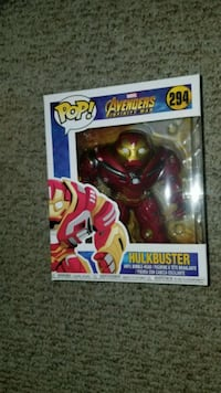 Pop ! Marvel Avengers vinyl figure in box Palm Springs, 92262