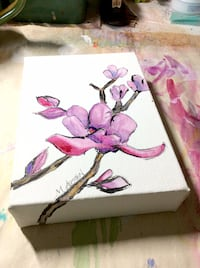 Magnolias ~ Canvas Art (NEW)