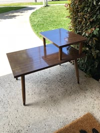 Two tier mid century side table  Huntington Beach, 92648