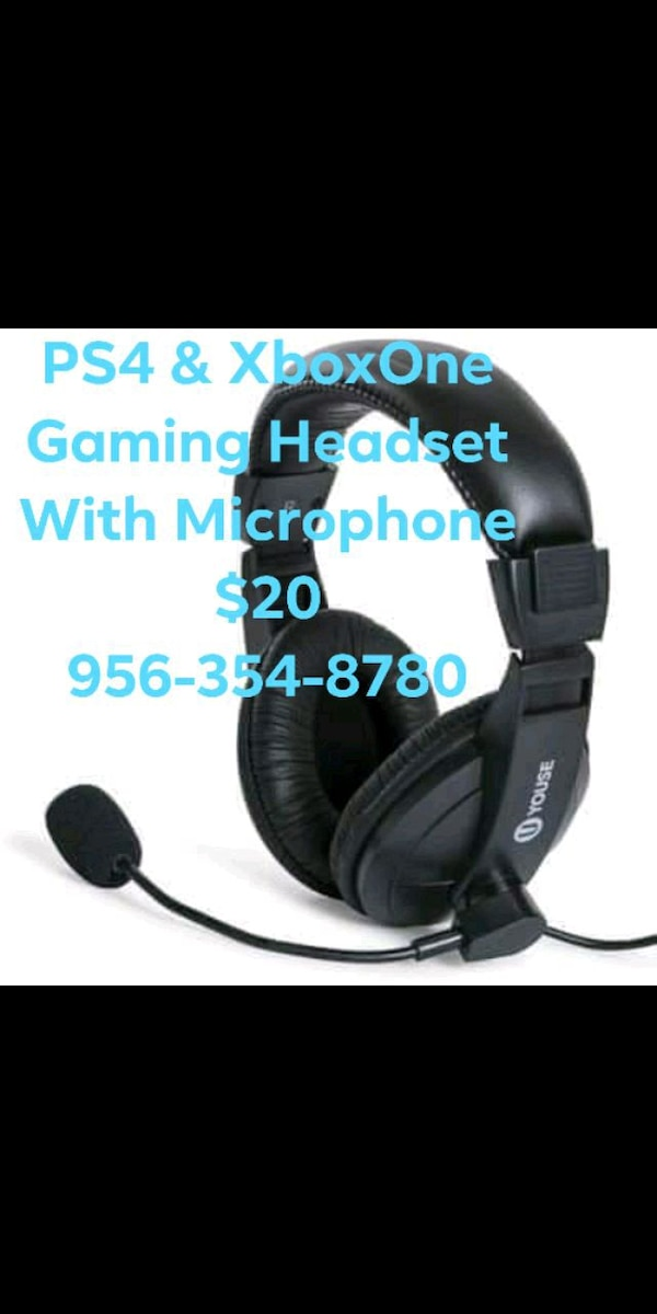 Gaming Headset For Ps4 Xbox One Fortnite