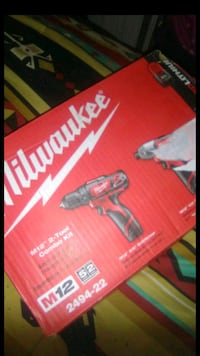 MILWAUKEE DRILL AND IMPACT DRIVER SET BRAND NEW Tucson, 85705